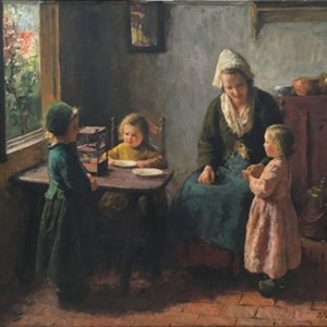 """Mother with Children"""