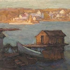 Boat and Boat House, Fogo Island